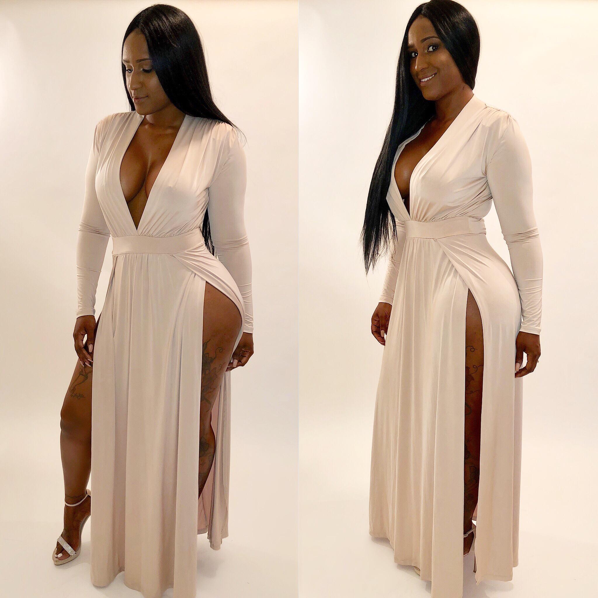 classy stretchy dress