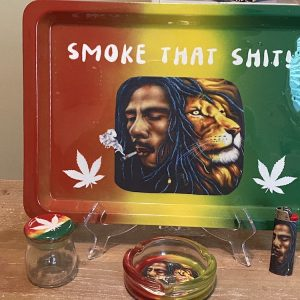 Bob Marley Rolling Tray Set